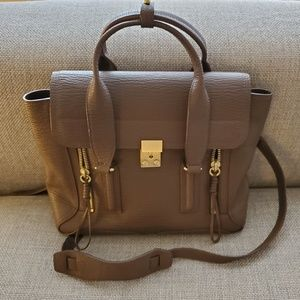 3.1 Phillip Lim Pashli Taupe Medium Bag